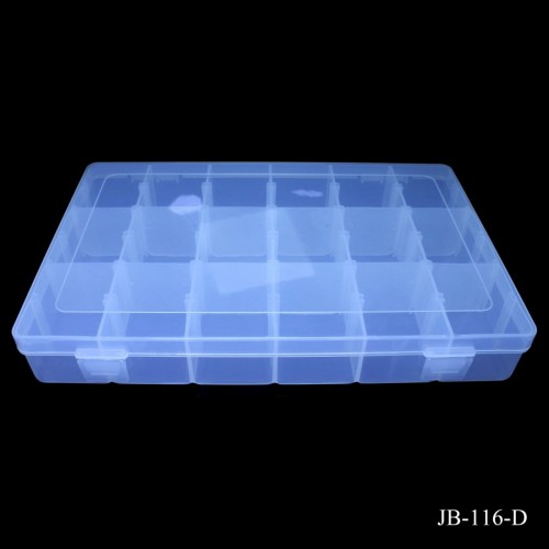 Plastic Storage Box with many compartments JB-116-D