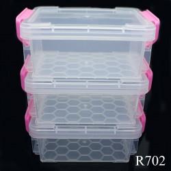 Plastic Storage Boxes - 3 pcs set (R702)