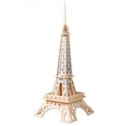 A5 3D wooden puzzle Kit - Eiffel Tower