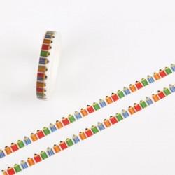 Pencils - Japanese Washi Tape