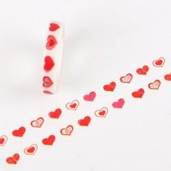 Hearts - Japanese Washi Tape