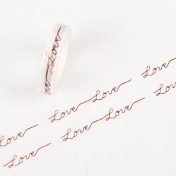 Love - Japanese Washi Tape