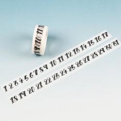 Numbered - Japanese Washi Tape CAWT-180