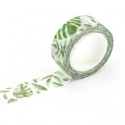 Washi Tape - Fern Leaves (Green)
