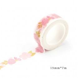 Simple Flowers - Japanese Washi Tape