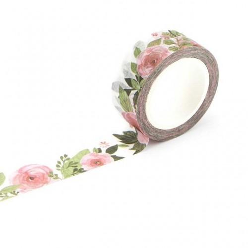 Washi Tape - Watercolor Roses