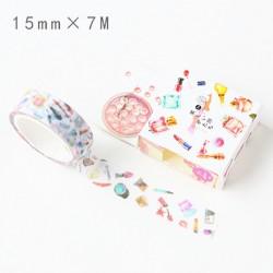 Washi Tape - Girly make up items