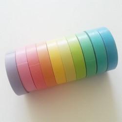 Rainbow colored - Japanese Washi/ Masking Tape