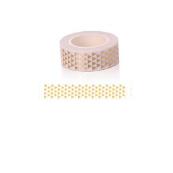 Foiled Washi Tape - Tiny Triangles