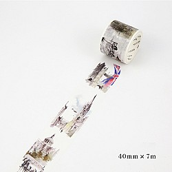Vintage London - Japanese Washi Tape (40 mm by 7m)