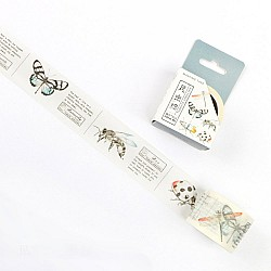 Insects - Japanese Washi Tape (30 mm by 5 m)