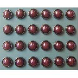 Pearl Brads (Large) - Purple