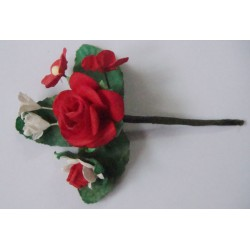 A bouquet of flowers- Red (Pack of 5 bouquets)