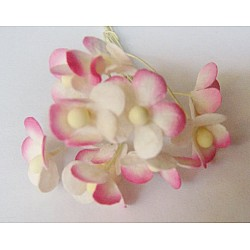 Periwinkles - Pink and White (Pack of 10 flowers)