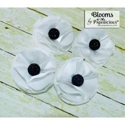 Papericious Handmade Fabric Flowers (FL1001)