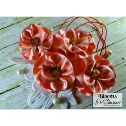 Papericious Handmade Fabric Flowers (FL6002)