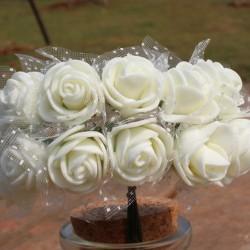 Foam Roses - Ivory (Set of 24 roses)