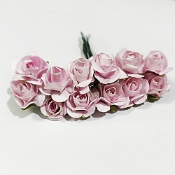 Mulberry Paper Roses - Baby Pink (Pack of 24 roses)