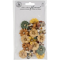 Prima Marketing Mulberry Paper Flowers - Together/Diamond