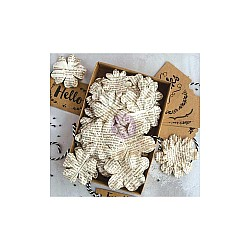 """Prima Boxed Flowers - Documented Beauty With Tags 1.5""""-2.25"""" 48pk"""