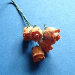 Mulberry Rose buds - Orange