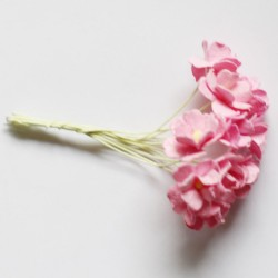Periwinkles Flowers - Light Pink (Pack of 10 flowers)