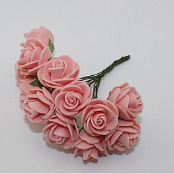 Foam Roses - Peach (Set of 24 roses)