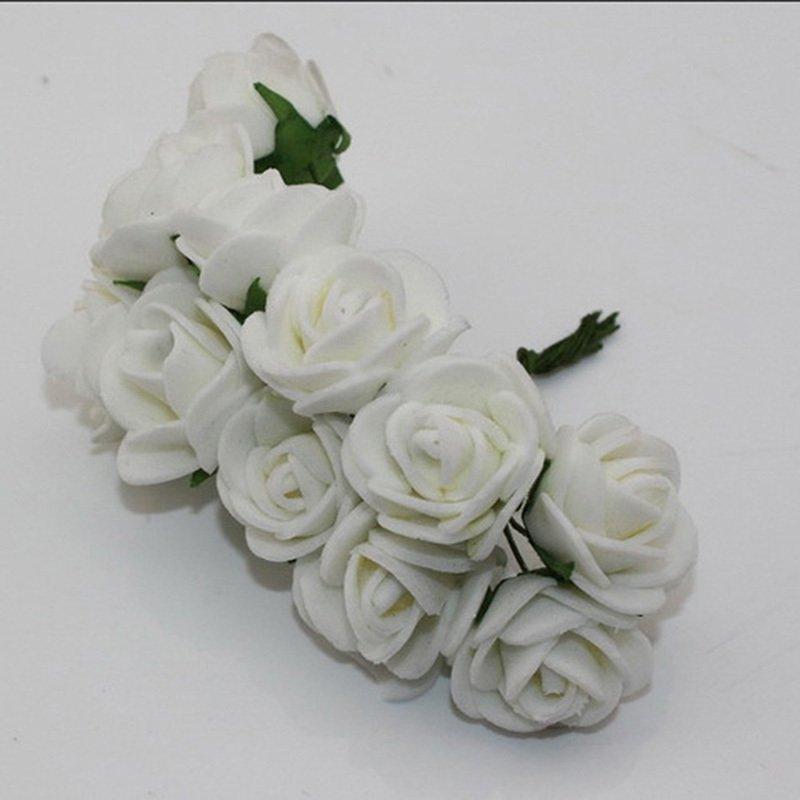 Buy foam roses white set of 24 roses online in india at best foam roses white set of 24 roses mightylinksfo