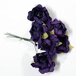 Mulberry flowers - Purple (Pack of 12 flowers)