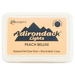 Adirondack Dye Ink Pad Lights - Peach Bellini