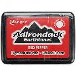 Adirondack Pigment Ink Pad Earthtones - Red Pepper