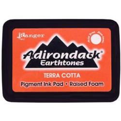 Adirondack Pigment Ink Pad Earthtones - Terra Cotta