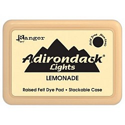 Adirondack Dye Ink Pad Lights - Lemonade