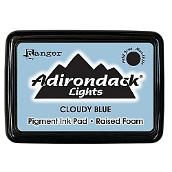 Adirondack Pigment Ink Pad Lights - Cloudy Blue