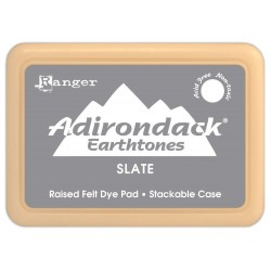 Adirondack Dye Ink Pad Earthtones - Slate