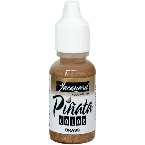 Jacquard Pinata Color Alcohol Ink .5oz - Brass