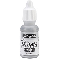 Jacquard Pinata Color Alcohol Ink .5oz - Silver