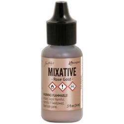 Tim Holtz Alcohol Ink Mixatives - Rose Gold (.5oz)