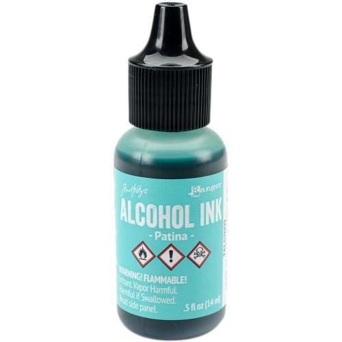 Tim Holtz Alcohol Ink .5oz - Patina