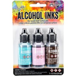 Adirondack Earth Tones Alcohol Inks - Retro Cafe (Pack of 3)