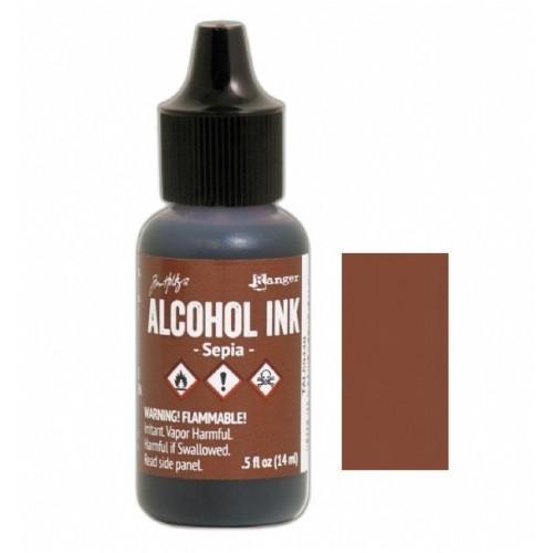 Tim Holtz Alcohol Ink .5oz - Sepia