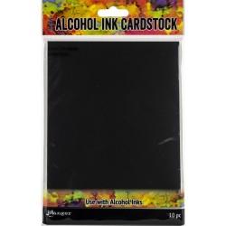 """Tim Holtz Alcohol Ink Cardstock 5""""X7"""" 10/Pkg"""