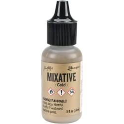 Tim Holtz Alcohol Ink Metallic Mixatives - Gold