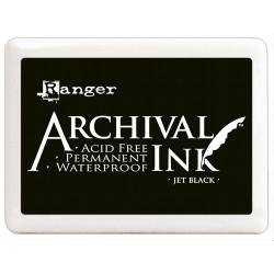 Jet Black - Archival Jumbo Ink Pad