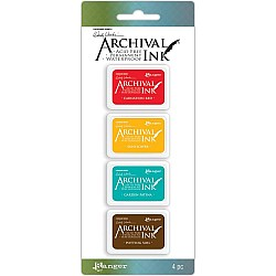 Wendy Vecchi Archival Mini Ink Pad Kit # 1 (Set of 4)