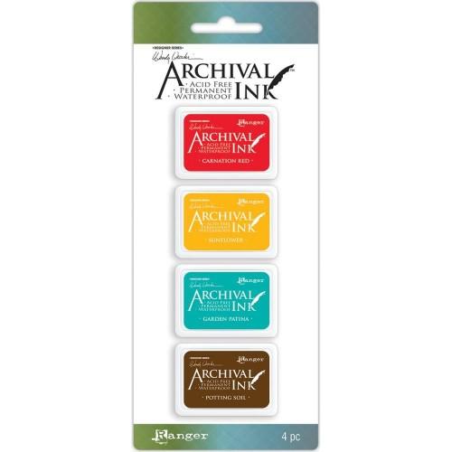 Wendy Vecchi Archival Mini Ink Pad Kit # 1 (Set of 4)