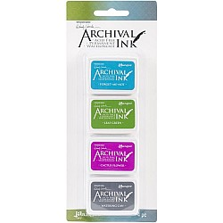 Wendy Vecchi Archival Mini Ink Pad Kit # 2 (Set of 4)