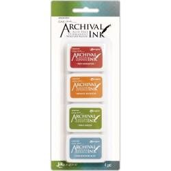 Wendy Vecchi Archival Mini Ink Pad Kit # 4 (Set of 4)
