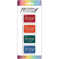 Archival Mini Ink Pad Kit # 1 (Set of 4)