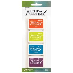 Wendy Vecchi Archival Mini Ink Pad Kit # 6 (Set of 4)